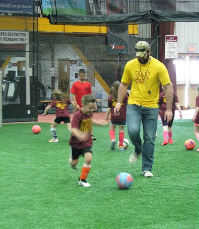 Content for Spring Indoor - Outdoor Soccer