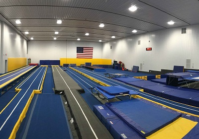 Pano View of Gym